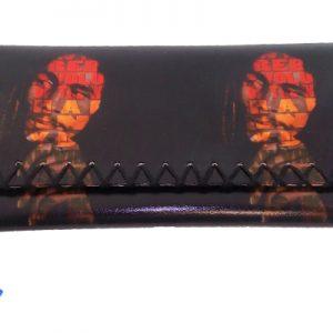 Θήκη καπνού PU με κορδόνι Bob Marley